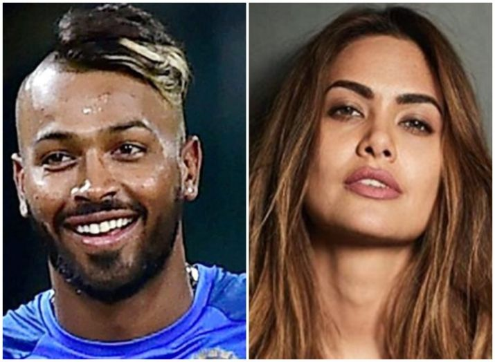 Hardik Pandya, Esha Gupta- India TV