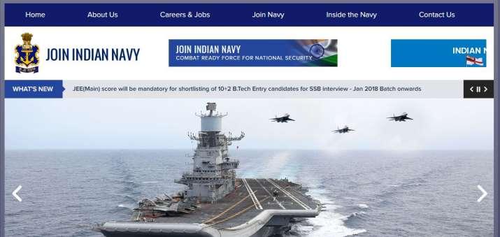 INDIAN NAVY Jobs 2018- India TV
