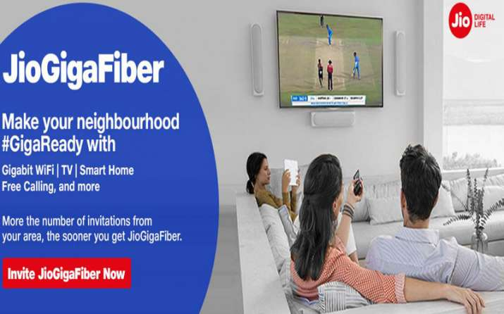 Reliance Jio starts registration for JioGigaFiber- India TV Paisa