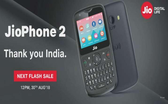 JioPhone 2 Flash Sale- India TV Paisa