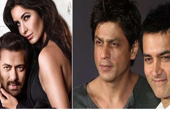Salman Khan, Katrina Kaif, Shah Rukh Khan and Aamir Khan- India TV
