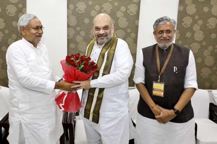 2019 के लिए तय हुआ बिहार का फॉर्मूला, प्रदेश में जेडीयू नहीं बीजेपी 'बिग ब्रदर'- India TV