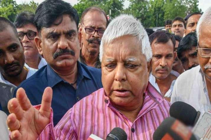 Rashtriya Janata Dal (RJD) Chief Lalu Prasad Yadav talks...- India TV