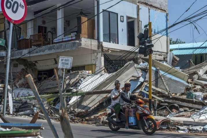Magnitude 6.3 earthquake shakes Lombok island in Indonesia, kills at least 10 | AP File- India TV