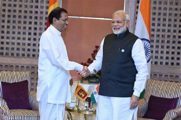 India ready to assist Lanka in any way it desires, says PM Narendra Modi to Sirisena | Twitter- India TV