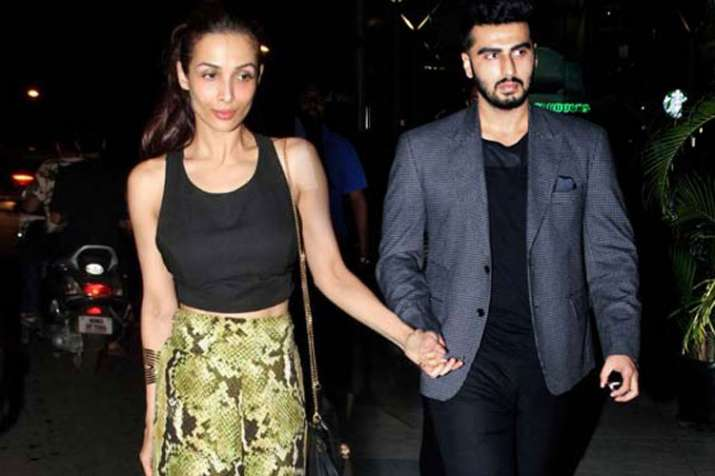 Malaika Arora and Arjun Kapoor- India TV