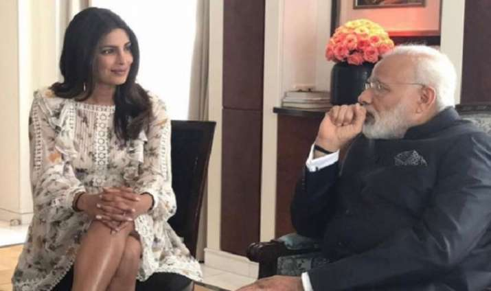 Narendra Modi and Priyanka Chopra- India TV Paisa