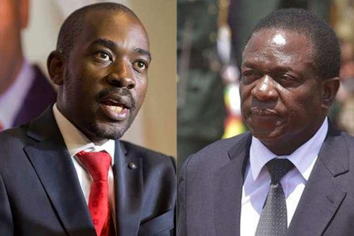 Nelson Chamisa and Emmerson Mnangagwa | AP - Khabar IndiaTV
