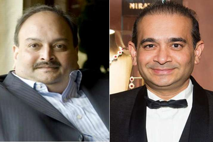 Nirav Modi and Mehul chokse- India TV