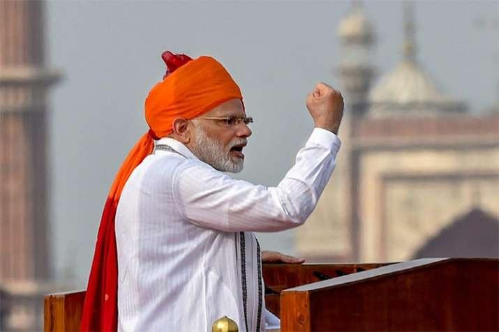 PM Modi Speech- India TV