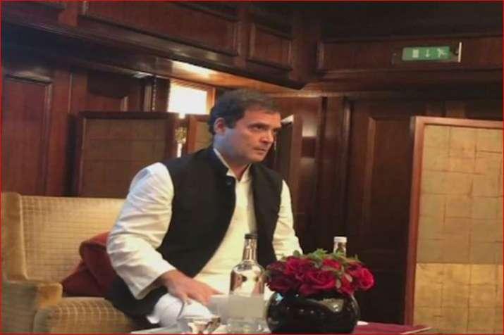 Rahul Gandhi in UK- India TV