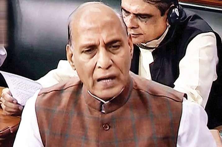 नये एससी, एसटी अत्याचार निवारण विधेयक चालू सत्र में पारित कराने का इरादा: राजनाथ- India TV