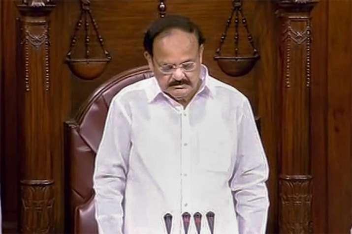 Rajya Sabha adjourned for day as mark of respect to M Karunanidhi | PTI- India TV
