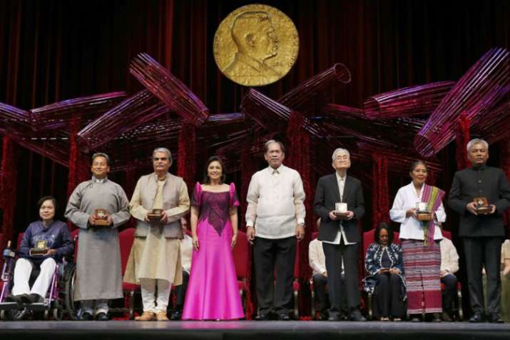 Two Indians, Bharat Vatwani & Sonam Wangchuk, receive Ramon Magsaysay Award | AP- India TV