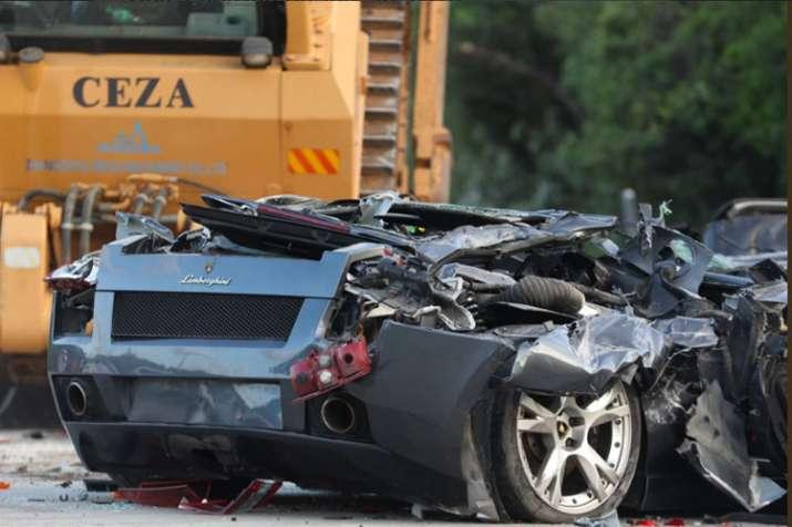 Rodrigo Duterte watches luxury vehicles destroyed in Philippines- Khabar IndiaTV