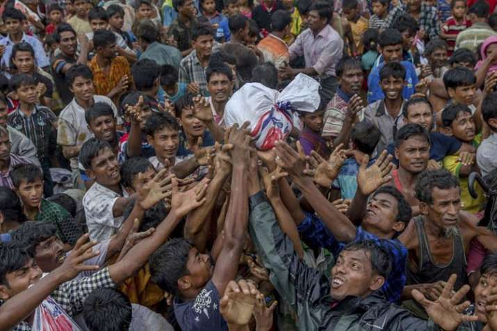 Rohingya must be moved to safer areas in Cox's Bazar, says HRW | AP Representational- India TV