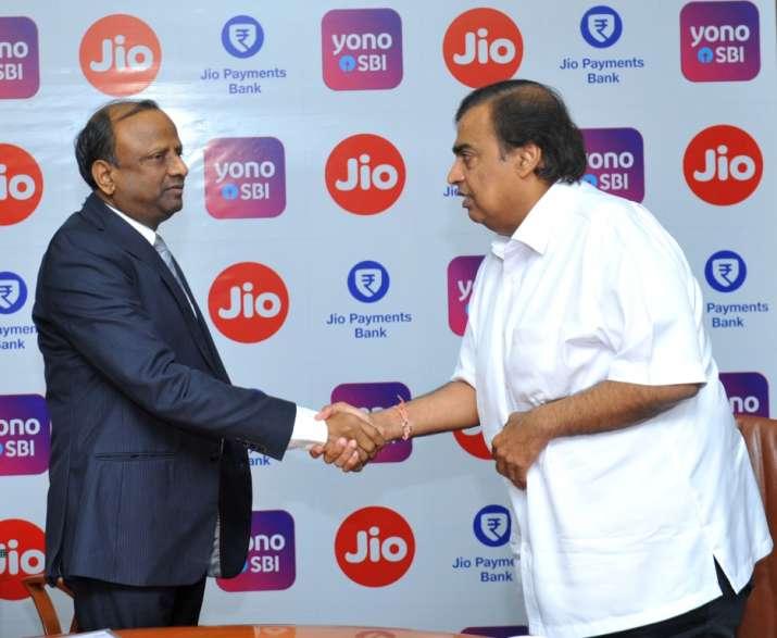 SBI -Jio- India TV Paisa