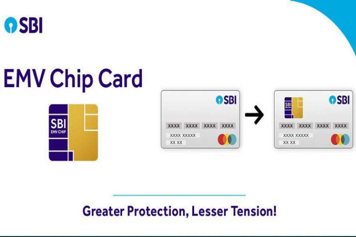 SBI ask its customers to change old Magstripe based debit Card with EMV chip based card- India TV Paisa