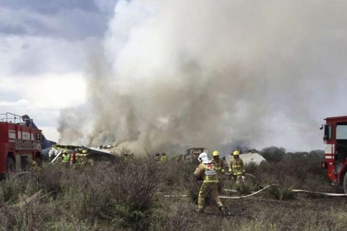 nearly 85 injured as Aeromexico plane crashes in...- India TV
