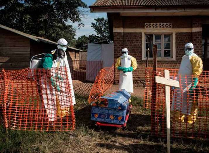 Ebola death toll in DR Congo rises to 55- India TV