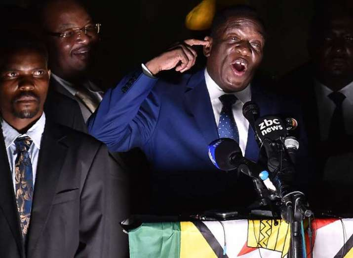 Emmerson Mnangagwa takes oath as Zimbabwe President- India TV