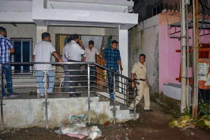 Palghar: Maharashtra Anti-Terrorism Squad (ATS) raids the house of a Sanatan Sanstha member | PTI- India TV
