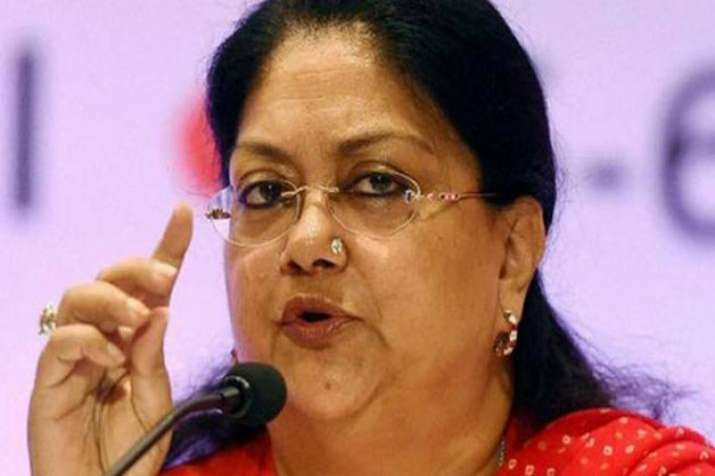Vahundhra raje- India TV