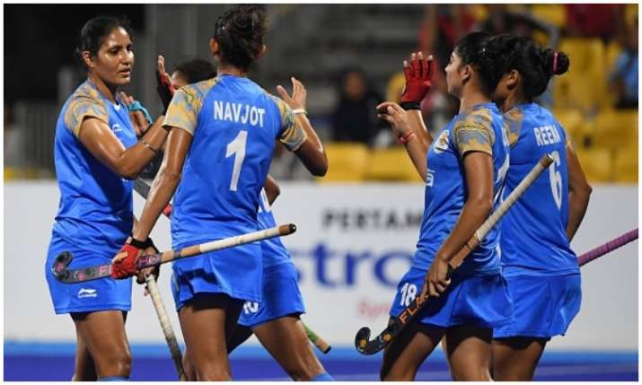 Indan Women hockey team beat Thailand- India TV
