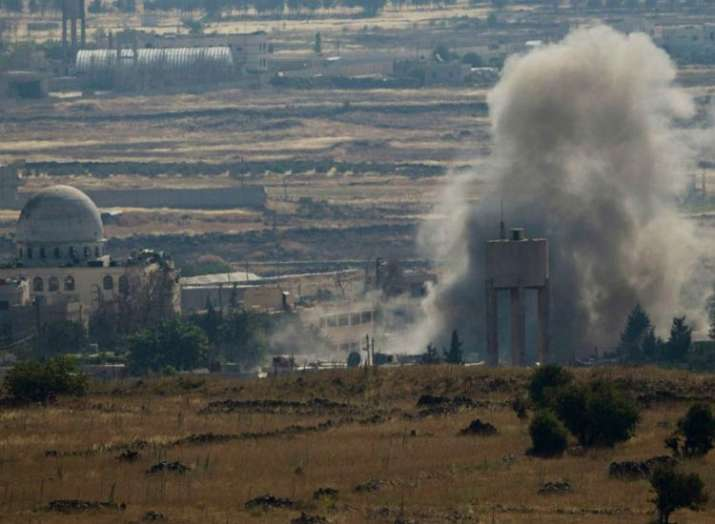 Explosions reported at Syrian military airport in Damascus- India TV