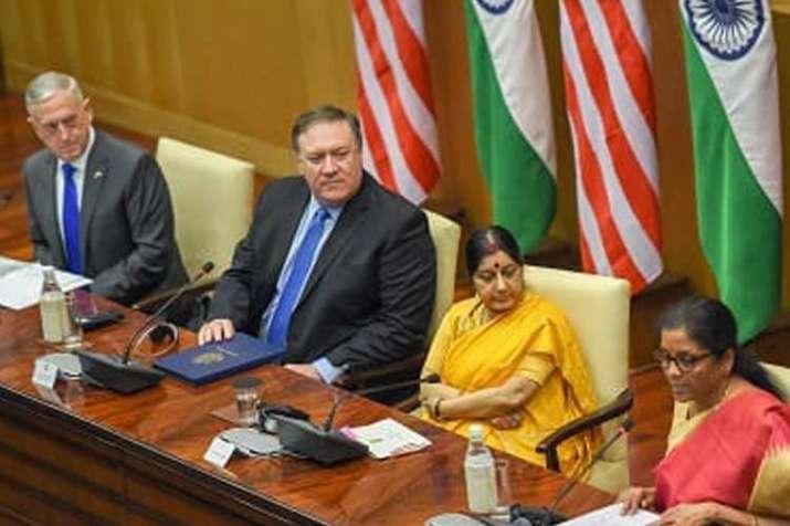 Indo-US 2 + 2 talks- India TV