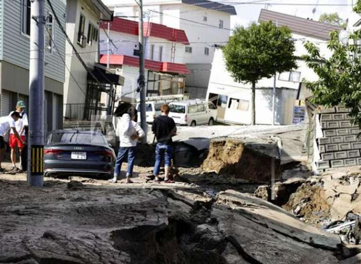 जापान, भूकंप- India TV