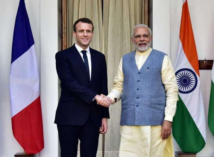 Emmanuel Macron- India TV