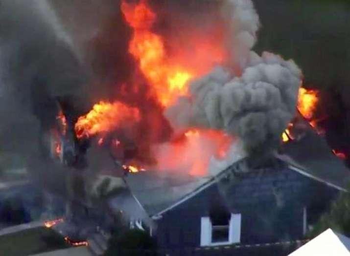 gas explosions erupt in Boston- India TV