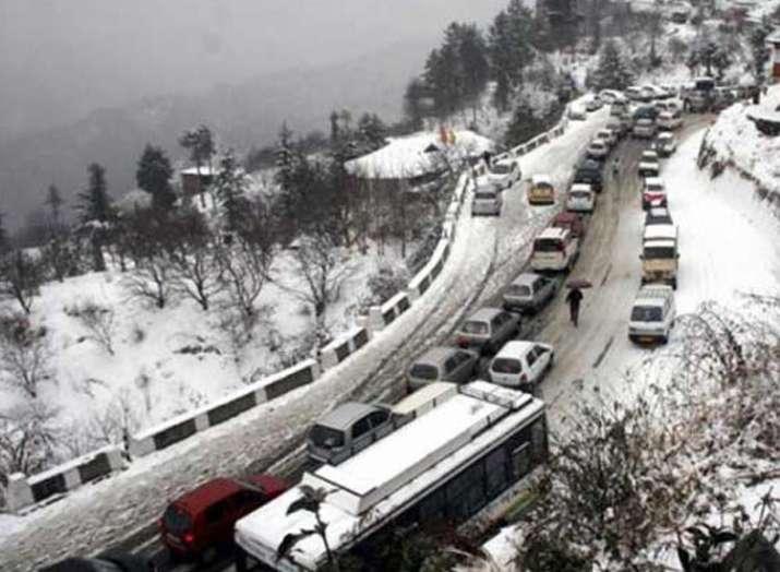 हिमाचल प्रदेश, भारी बर्फबारी- India TV