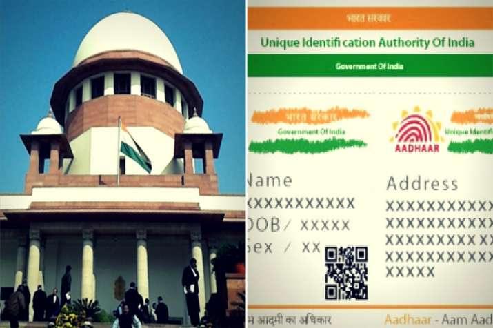 Supreme Court verdict on Aadhaar - India TV Paisa