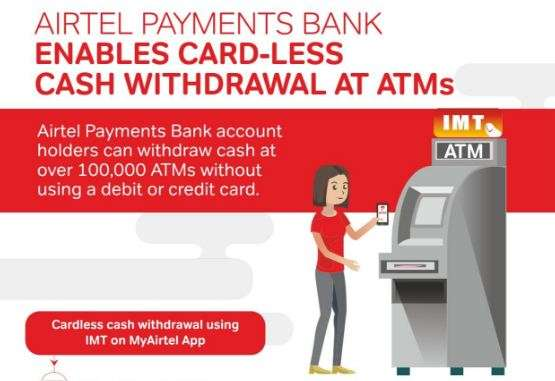 Airtel Payment Bank subscribers can withdraw cash from ATM without debit or credit cards- India TV Paisa