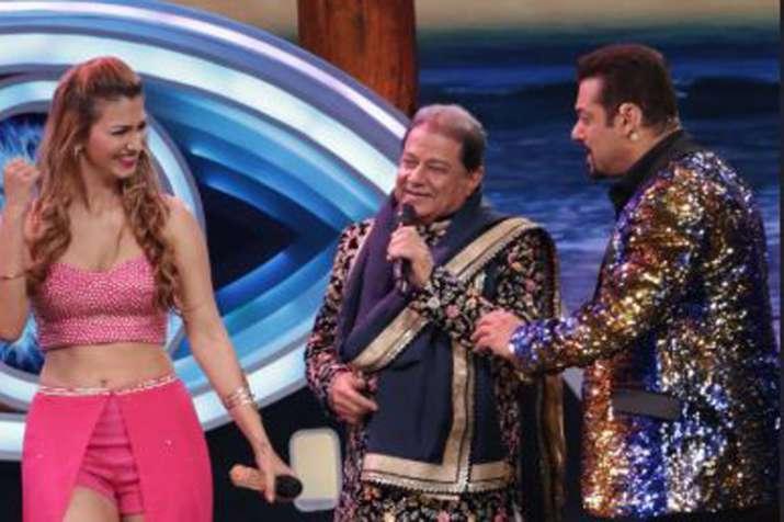 Anup Jalota, Jasleen Matharu, Salman Khan- India TV