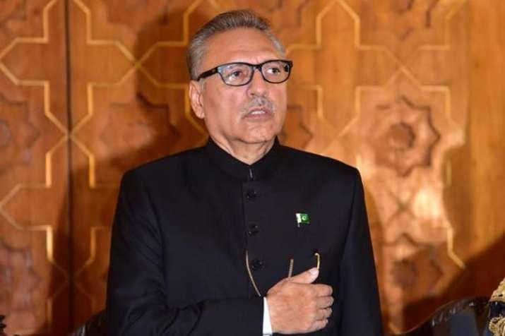 Pakistan president rakes up Kashmir issue in first Parliament speech   Facebook- India TV