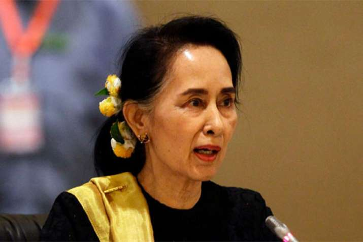Rohingya crisis could have been handled better, says Aung San Suu Kyi   AP File- India TV