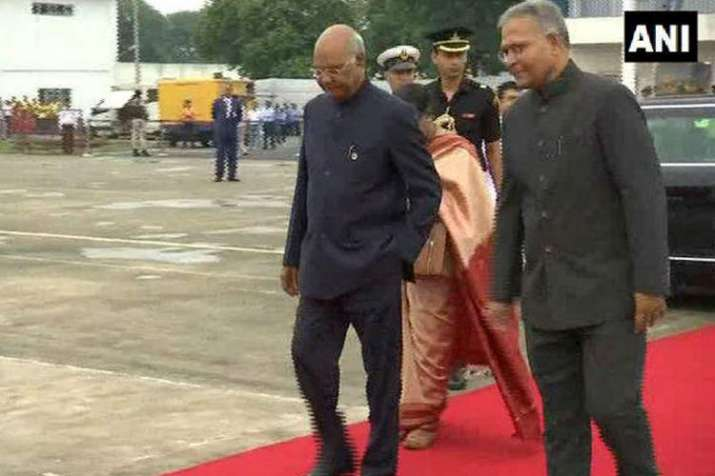 Ram Nath Kovind arrives in Belgium meets his Bulgarian...- India TV