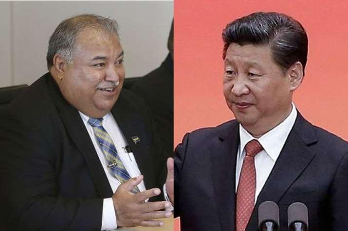 Nauru president Baron Waqa says, China must apologise for 'arrogance'   AP- India TV
