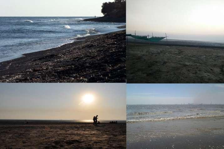 काली रेत वाला डुमस...- India TV