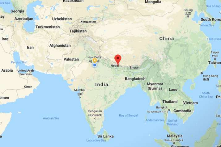 Chopper crashes in Nepal with seven people aboard, wreckage spotted in jungle | Google Maps- India TV