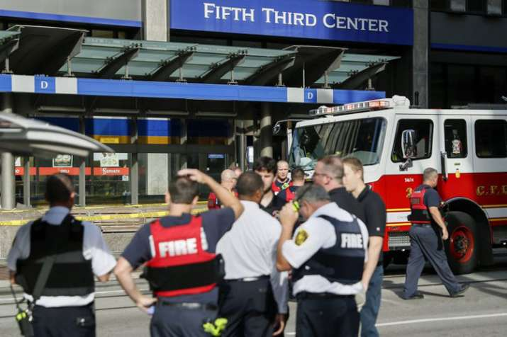 shooting at the Fifth Third Center in Cincinnati's...- India TV