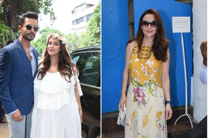 Neha Dhupia, Angad Bedi, Preity Zinta- India TV