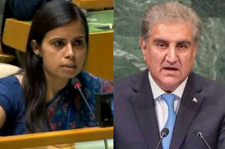 Qureshi's remarks on Peshawar school attack dishonour memory of children killed, says India at UNGA- India TV