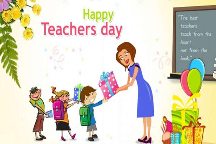 happy teacher's day- India TV