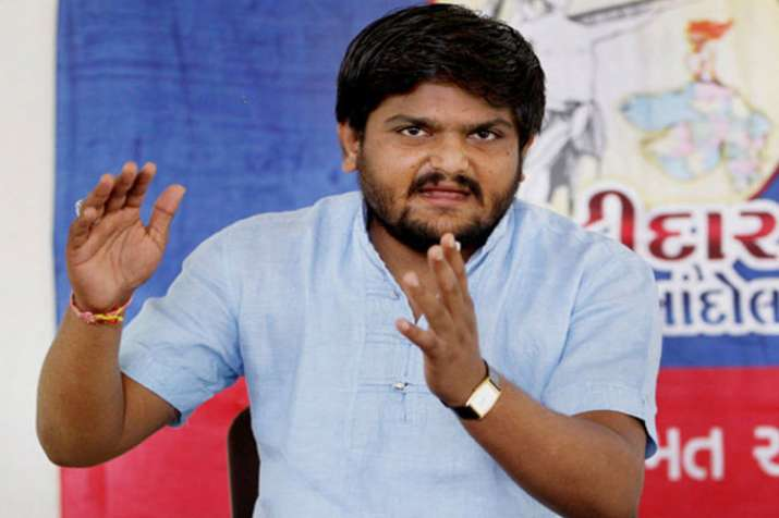 Hardik patel- India TV