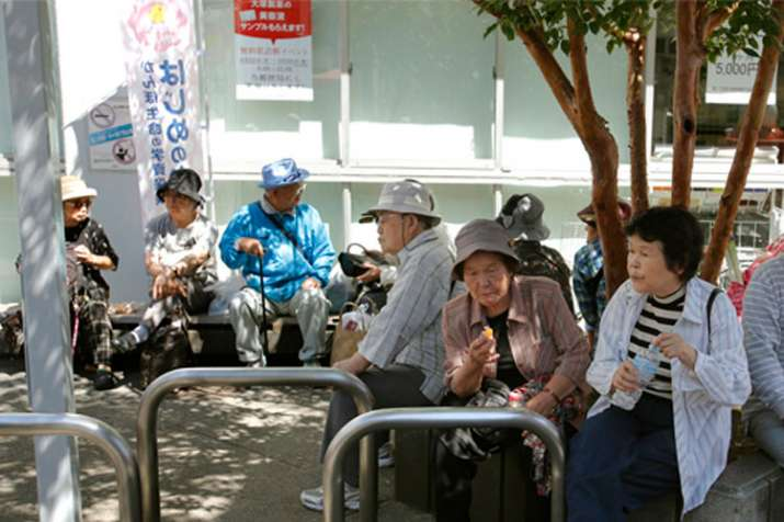 Japan sets a new record number for people over 100 years old | AP- India TV