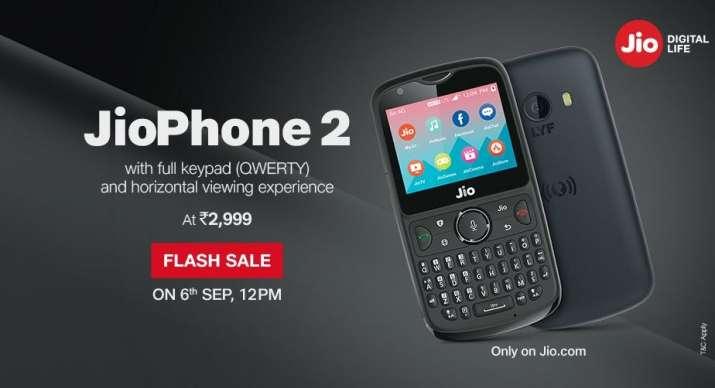 JioPhone 2 third flash sale today- IndiaTV Paisa